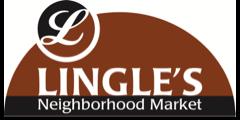 A theme logo of Lingle's Neighborhood Market